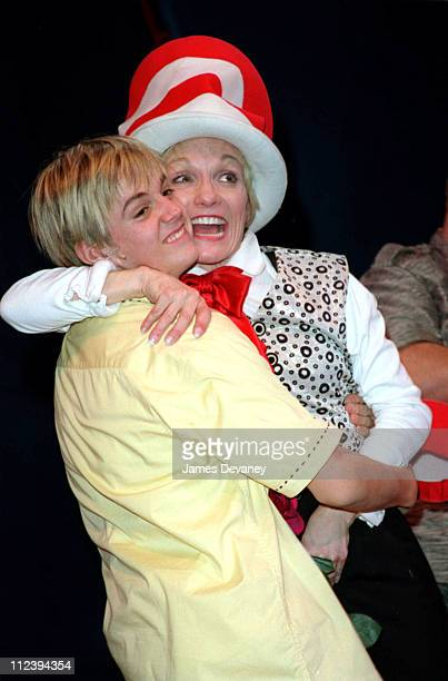Aaron Carter as Jo Jo The Who and Cathy Rigby as The Cat In The Hat
