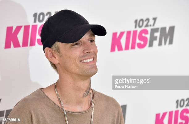 Aaron Carter attends 1027 KIIS FM's 2017 Wango Tango at StubHub Center on May 13 2017 in Carson California