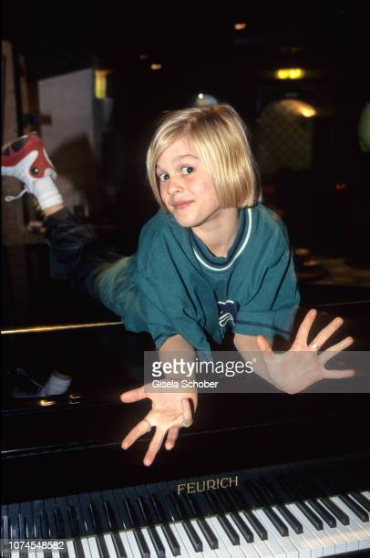 Aaron Carter attends 'Bravo All Stars' in May 1998 in Germany