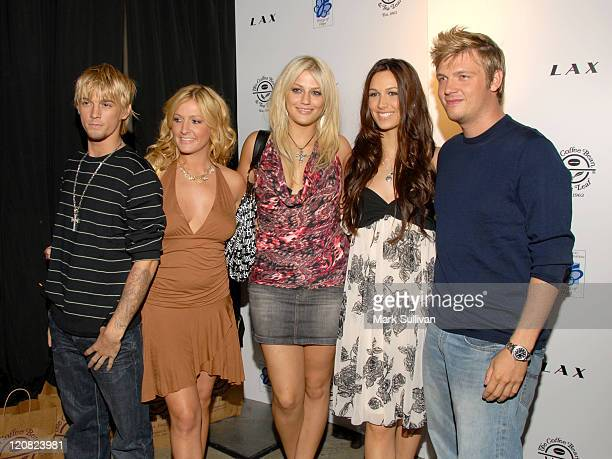 Aaron Carter BJ Carter Leslie Carter Amy Carter and Nick Carter