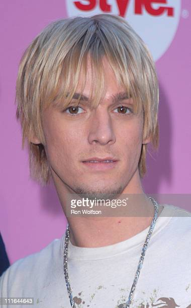 Aaron Carter during E and STYLE Networks' TCA Summer Press Tour July 11 2006 at Ritz Carlton in Pasadena California United States