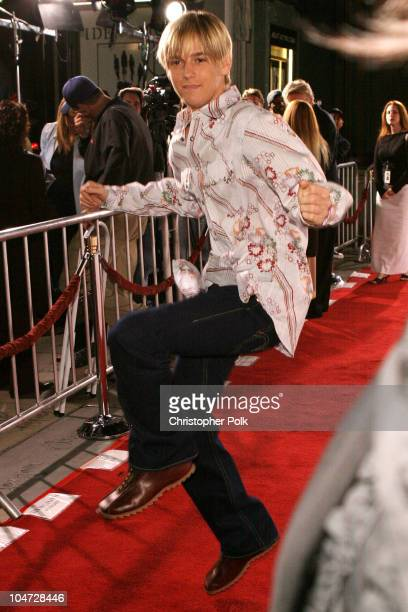 Aaron Carter during World Premiere of Identity at Grauman's Chinese Theatre in Hollywood California United States