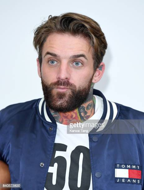 Aaron Chalmers attends the 'Geordie Shore Land of Hope and Geordie' series 15 Launch at the MTV HQ on August 29 2017 in London England