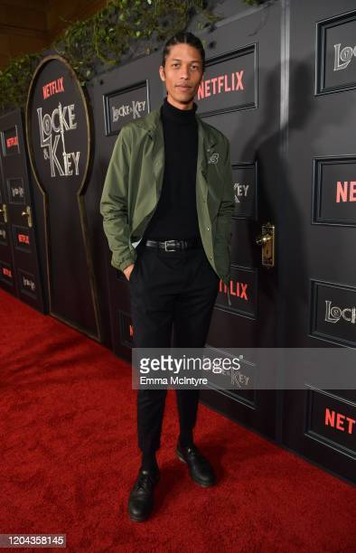 Aaron Childs attends the Locke Key Los Angeles Premiere at the Egyptian Theatre on February 05 2020 in Hollywood California
