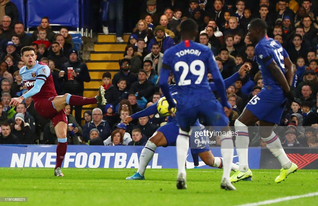 Chelsea FC v West Ham United - Premier League : Foto jornalística