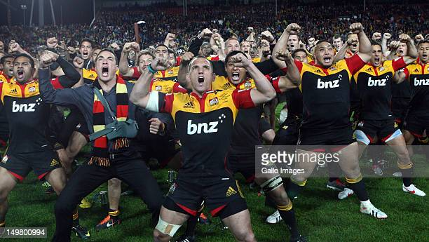 Aaron Cruden during the Super Rugby final match between Chiefs and The Sharks at Waikato Stadium on August 04, 2012 in Hamilton, New Zealand.