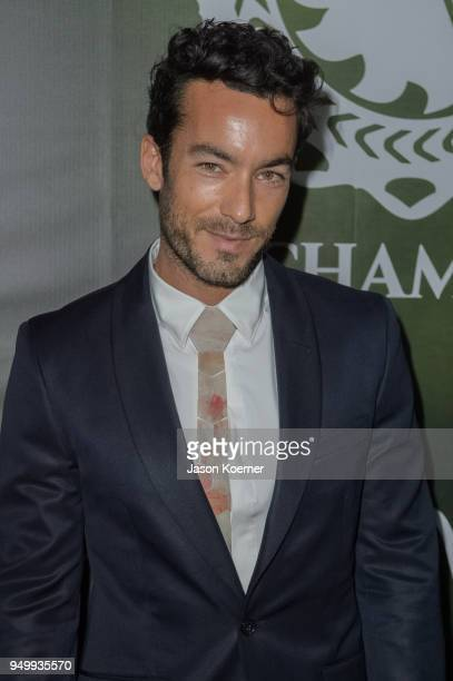 Aaron Diaz attends the 2018 Sachamama Green Gala Awards at Magic City Studios on April 21 2018 in Miami Florida
