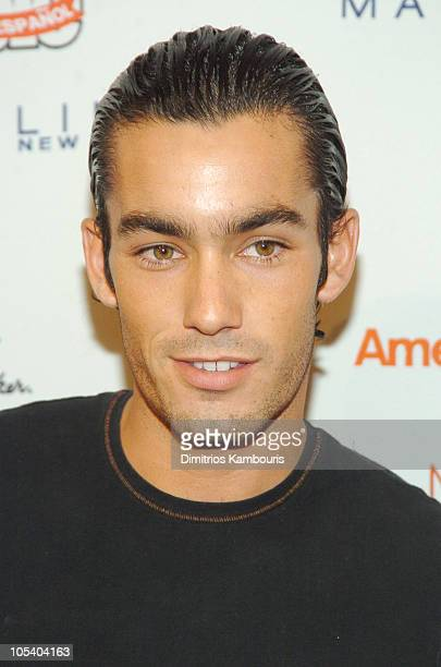 Aaron Diaz during 3rd Annual People En Espanol's '50 Most Beautiful' Gala at Splashlight Studios in New York City New York United States