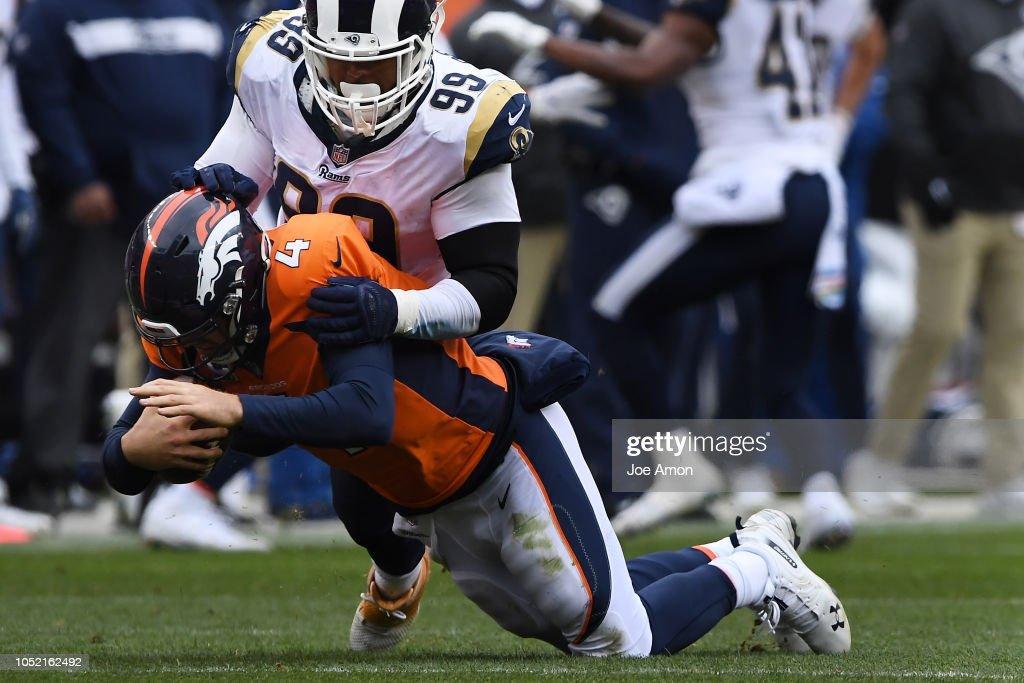 Denver Broncos vs. Los Angelos Rams, NFL Week 6 : News Photo