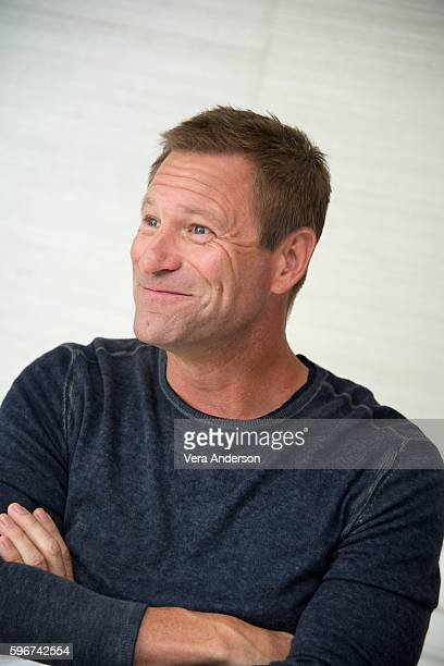 Aaron Eckhart at the 'Sully' Press Conference at the Four Seasons Hotel on August 27 2016 in Beverly Hills California