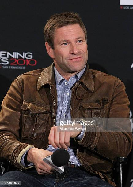 Aaron Eckhart at Variety's Los Angeles Screening Series of 'Rabbit Hole' held at The ArcLight Cinemas on December 7 2010 in Hollywood California