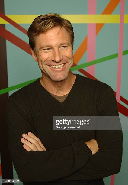 Aaron Eckhart during 2005 Toronto Film Festival 'Neverwas' Portraits at HP Portrait Studio in Toronto Canada