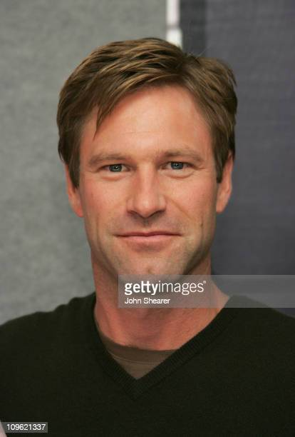 Aaron Eckhart during 2005 Toronto Film Festival 'Thank You For Smoking' Press Conference at Sutton Place Hotel in Toronto Canada