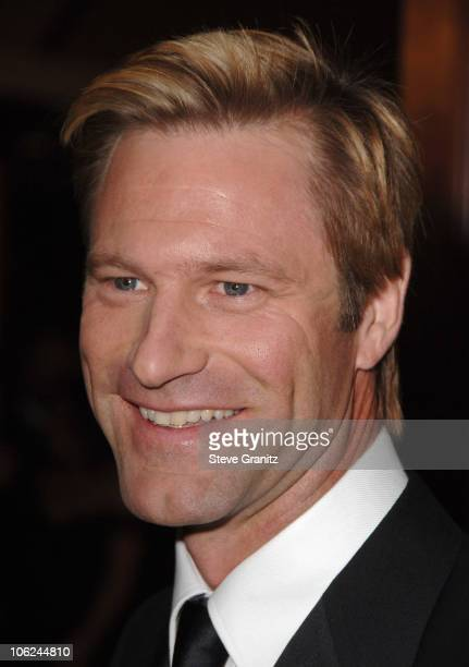 Aaron Eckhart during 59th Annual Directors Guild of America Awards Arrivals at Hyatt Regency Century Plaza in Century City California United States