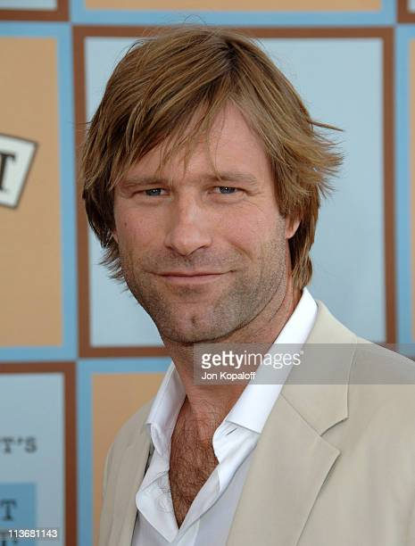 Aaron Eckhart during Film Independent's 2006 Independent Spirit Awards Arrivals in Santa Monica California United States