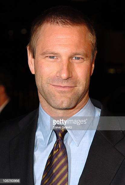 Aaron Eckhart during 'Paycheck' World Premiere at Grauman's Chinese Theatre in Hollywood California United States