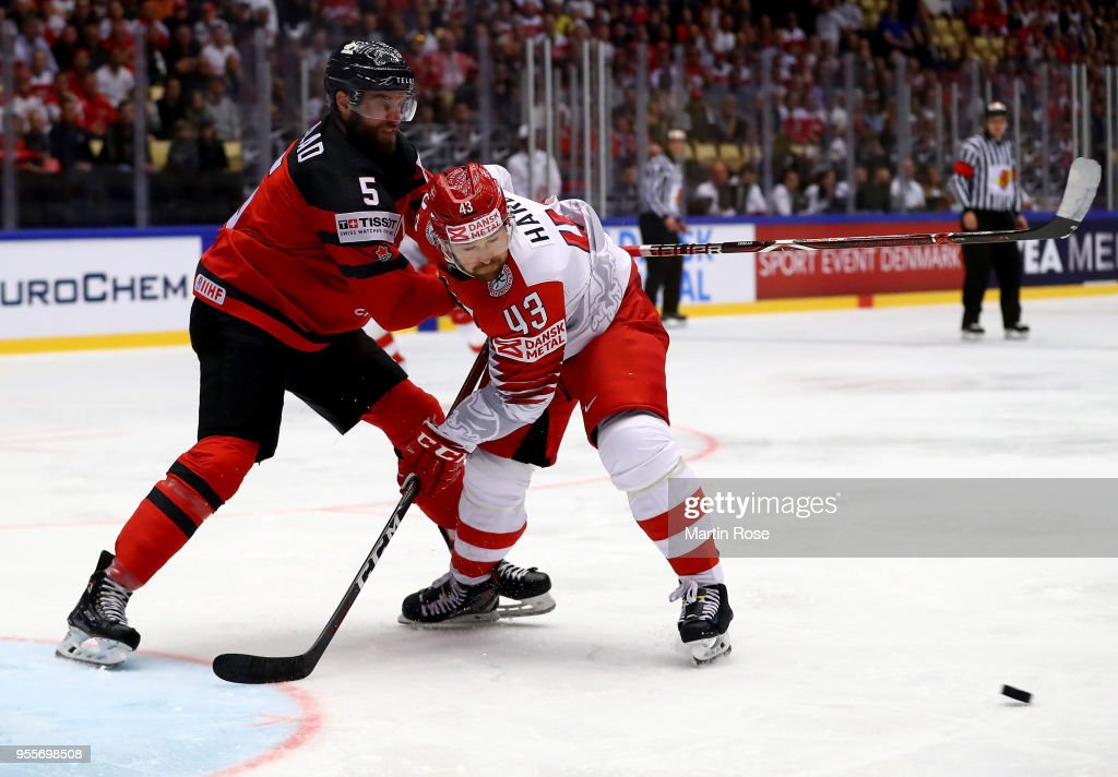 Canada v Denmark - 2018 IIHF Ice Hockey World Championship