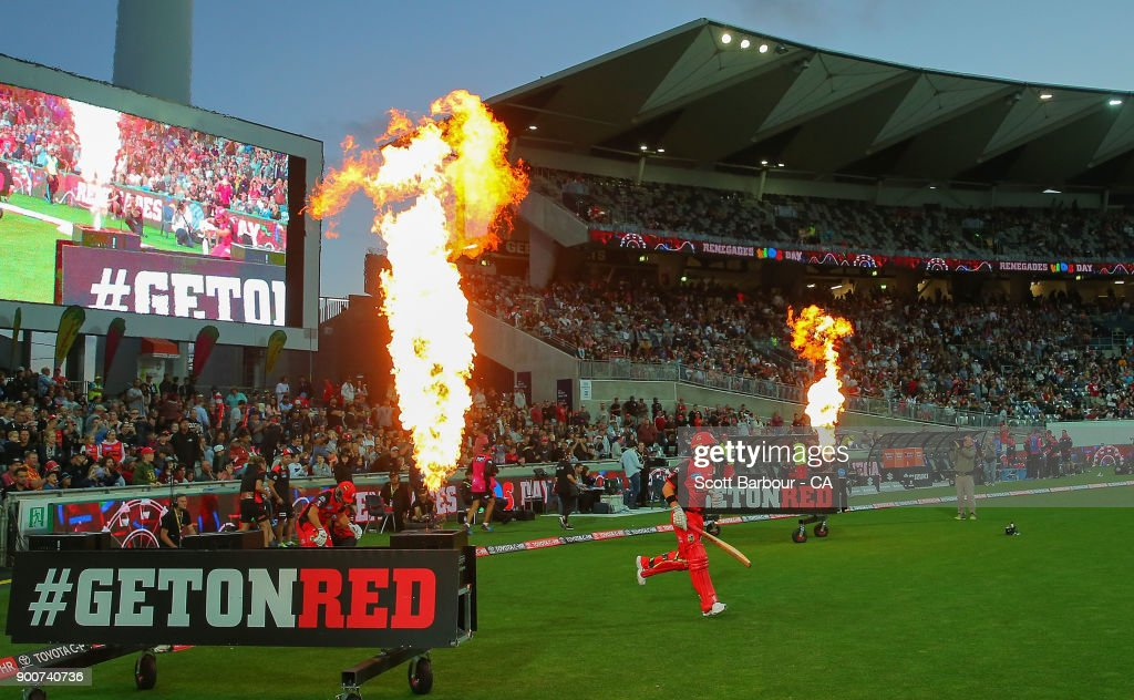 BBL - Renegades v Sixers : News Photo