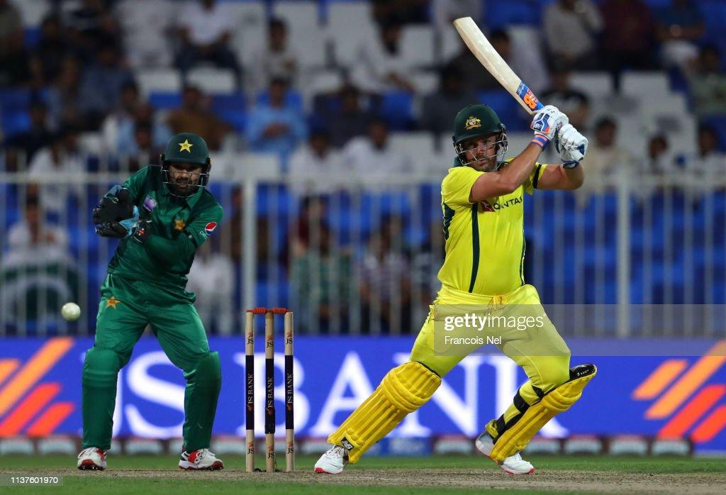 Pakistan v Australia - ODI Series: Game 1 : Nieuwsfoto's
