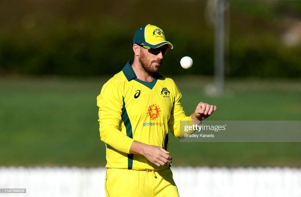Australia v New Zealand - Cricket World Cup Practice Match : News Photo