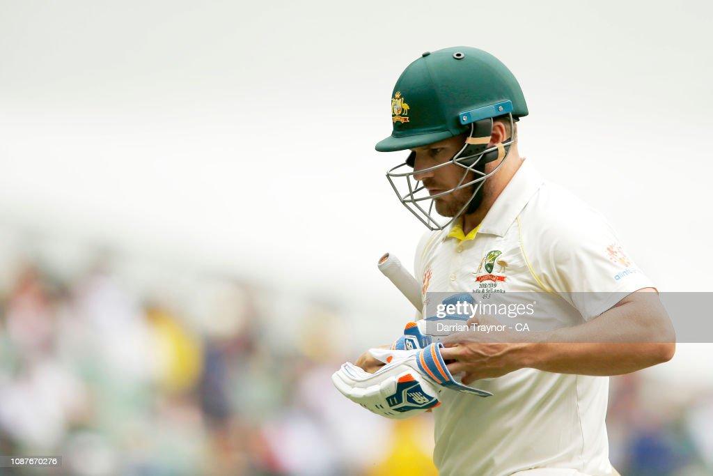 Australia v India - 3rd Test: Day 4 : News Photo
