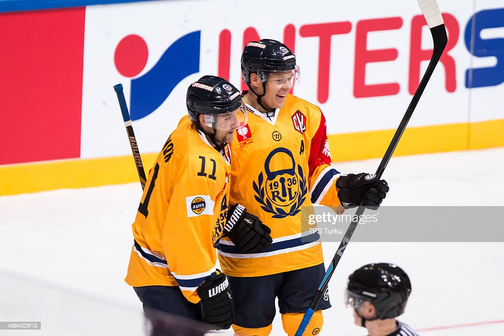 TPS Turku v Lukko Rauma - Champions Hockey League Round of 16 : News Photo