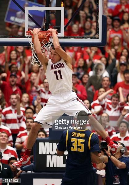 Aaron Gordon Arizona Wildcats Basketball Jersey-Red
