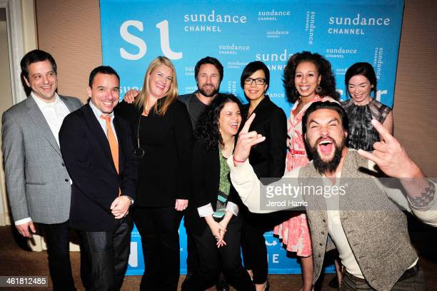 Aaron Guzikowski Christian Vesper Bridget Carpenter Martin Henderson Nena Rodrigue President of the Sundance Channel Sarah Barnett Tamara Tunie...