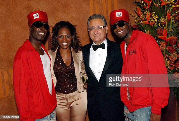 AaRon Hall Catherine Brewton BMI Vice President Writer/Publisher Relations Del R Bryant President/CEO BMI and Damon Hall