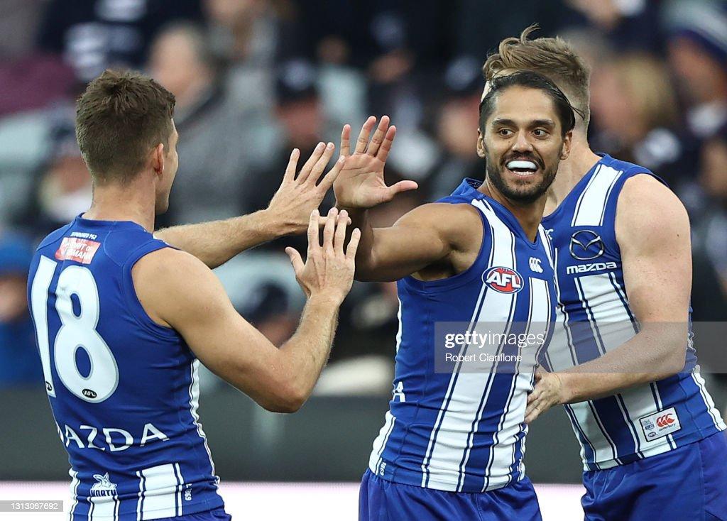 AFL Rd 5 - Geelong v North Melbourne : News Photo