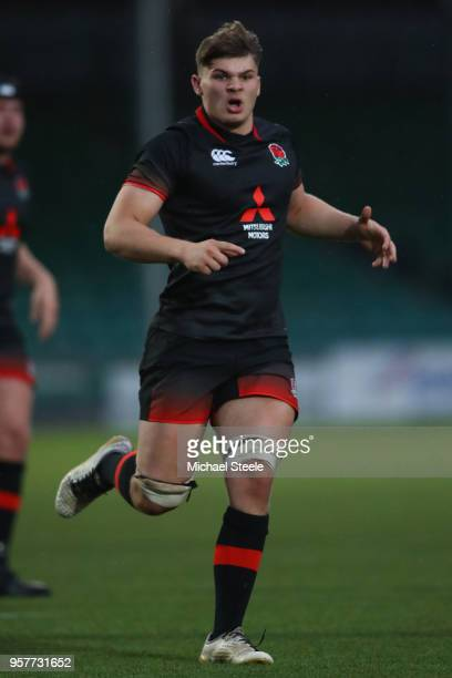 Aaron Hinkley of England during the International match between England U20's and South Africa U20's at Sixways Stadium on May 11 2018 in Worcester...
