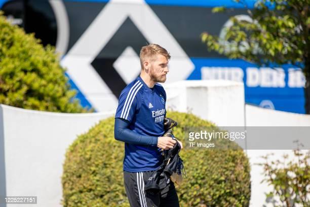 Aaron Hunt of Hamburger SV during the training session of Hamburger SV on May 16 2020 in Herzogenaurach Germany