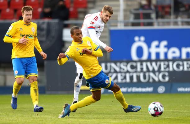 DEU: Eintracht Braunschweig v Hamburger SV - Second Bundesliga