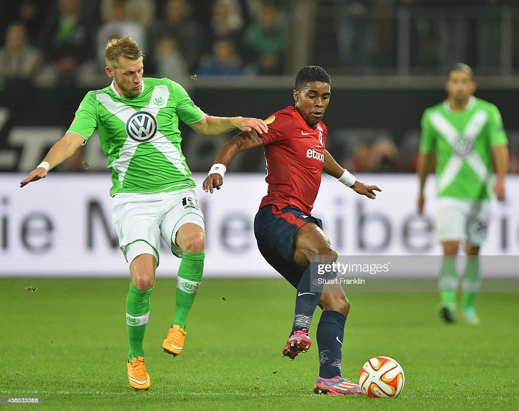VfL Wolfsburg v LOSC Lille - UEFA Europa League