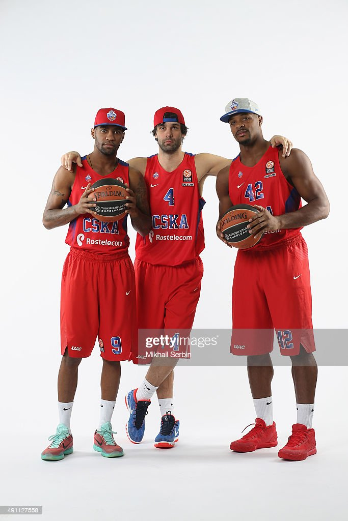 CSKA Moscow 2015/2016 Turkish Airlines Euroleague Basketball Media Day