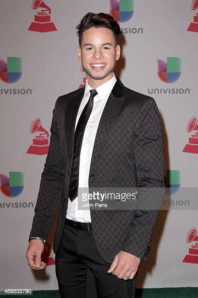 Aaron Jaquez attends the 15th annual Latin GRAMMY Awards at the MGM Grand Garden Arena on November 20 2014 in Las Vegas Nevada