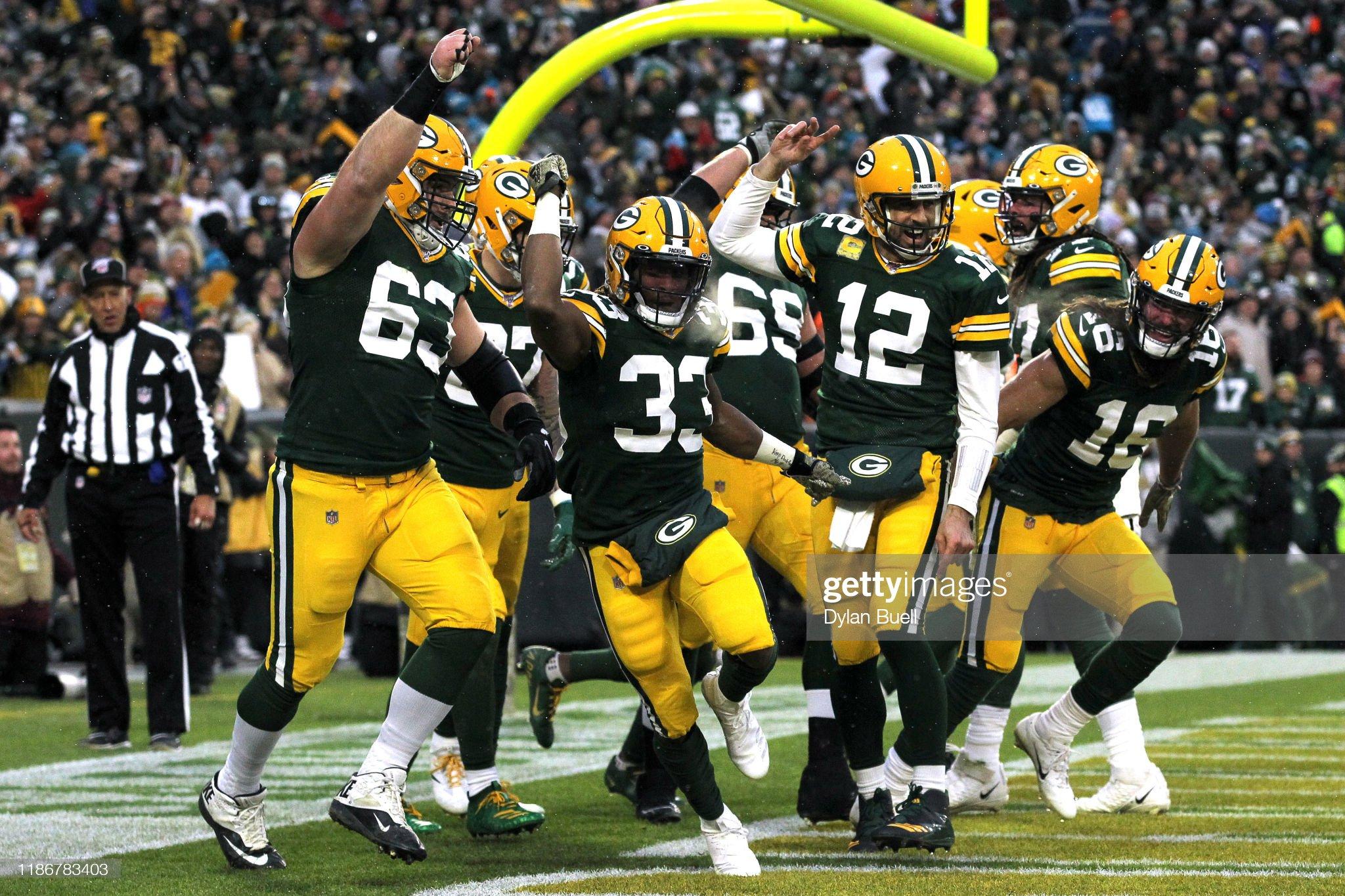 Carolina Panthers vGreen Bay Packers : Foto jornalística