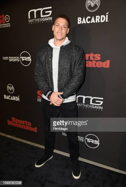 Aaron Judge attends Sports Illustrated Saturday Night Lights powered by Matthew Gavin Enterprises and Talent Resources Sports on February 2 2019 in...