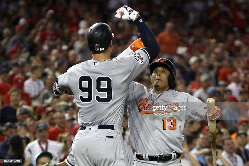 9a274b9a321 Aaron Judge of the New York Yankees and the American League... News ...