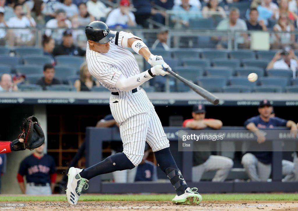 Boston Red Sox v New York Yankees - Game Two : News Photo