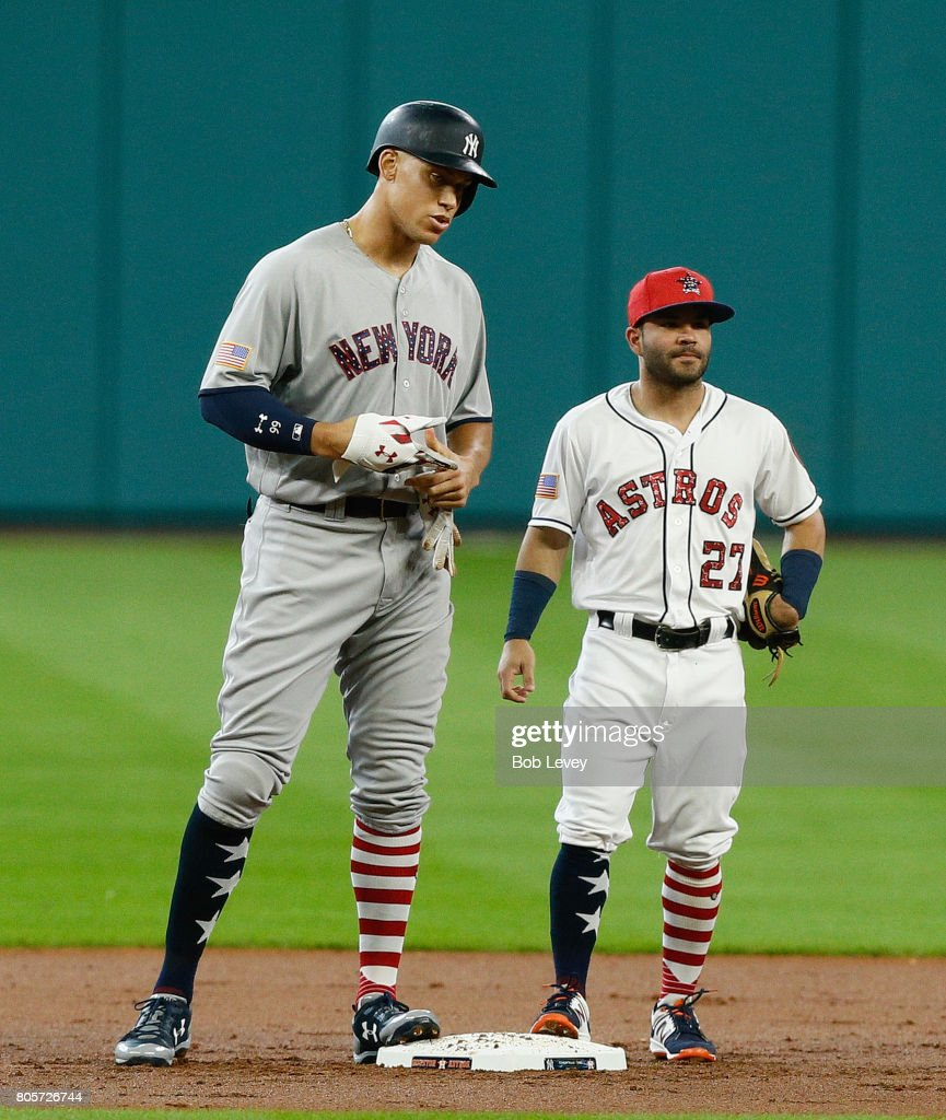 New York Yankees v Houston Astros : Fotografía de noticias