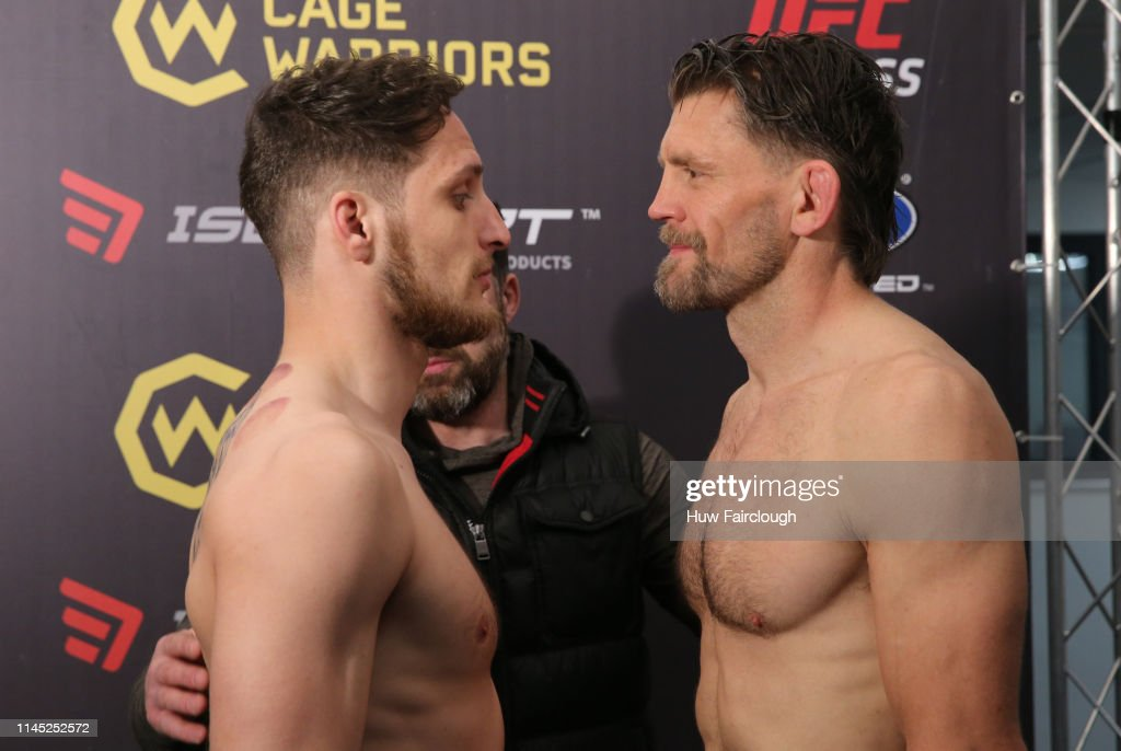 GBR: Cage Warriors 104 - Weigh In
