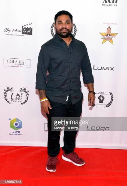 Aaron Kremen attends the Kash Hovey and Friends Film Block at Film Fest LA at Regal Cinemas LA LIVE Stadium 14 on November 09 2019 in Los Angeles...