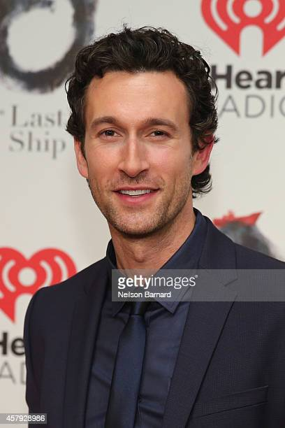 Aaron Lazar attends The Last Ship Broadway opening night after party at Pier 60 on October 26 2014 in New York City