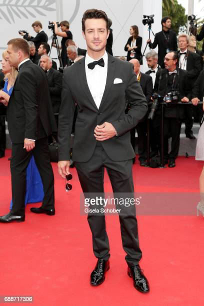 Aaron Lee attends the 'Amant Double ' screening during the 70th annual Cannes Film Festival at Palais des Festivals on May 26 2017 in Cannes France