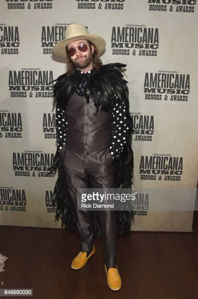 Aaron Lee Tasjan attends the 2017 Americana Music Association Honors Awards on September 13 2017 in Nashville Tennessee