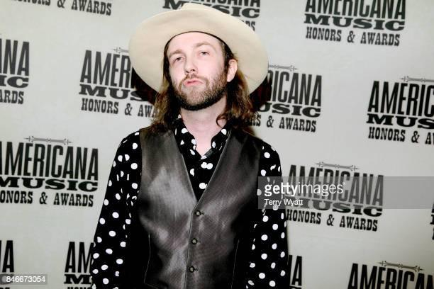Aaron Lee Tasjan attends the 2017 Americana Music Association Honors Awards on September 13 2017 in Nashville Tennessee
