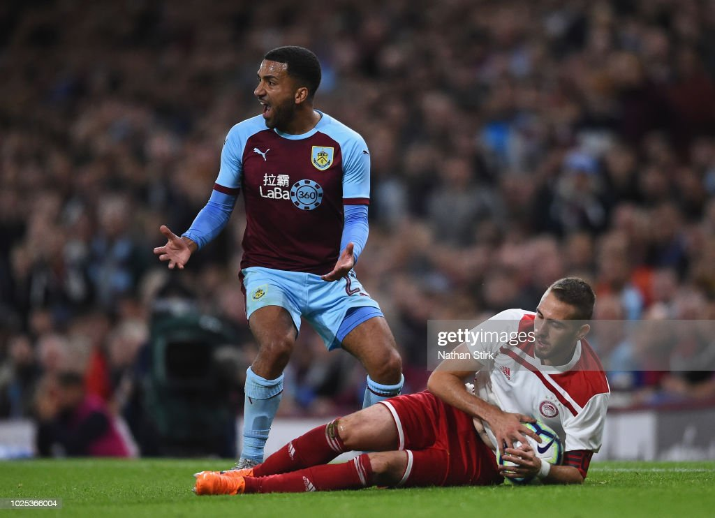 Burnley v Olympiakos - UEFA Europa League Qualifing Play-Off: Second Leg : News Photo
