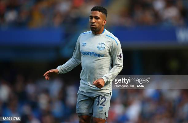 Aaron Lennon of Everton during the Premier League match between Chelsea and Everton at Stamford Bridge on August 27 2017 in London England