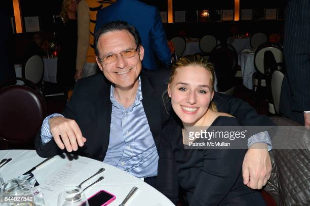 Aaron Lenz and Jenny Lenz attend Lieba's Birthday Dinner at Le Cirque on February 22 2017 in New York City